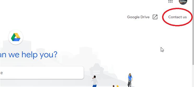 cotact google support team