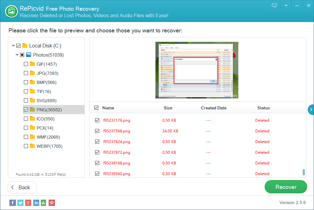 repicvid free photo recovery