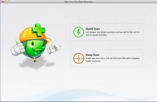 Amazing Mac Any Data Recovery