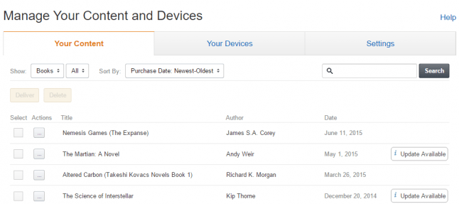 amazon content and devices