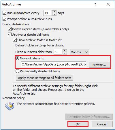 autoarchive-settings