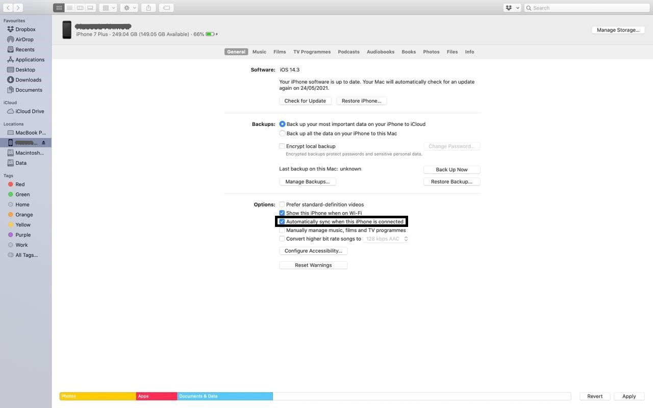 connect_iphone_to_Mac_by_iTunes_2