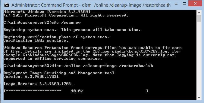 fix corrupted files with cmd2