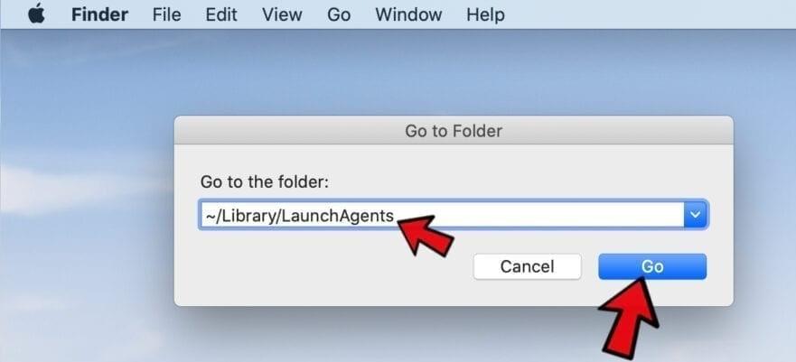 go to folder mac