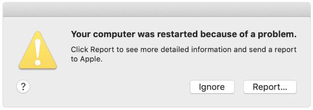 macbook crashes on start up