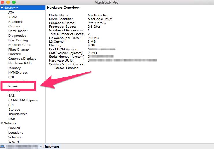 mac screen keeps going black - Check the Power