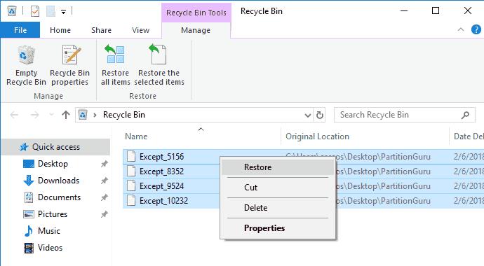 undelete_files_in_windows_10_from_recycle_bin