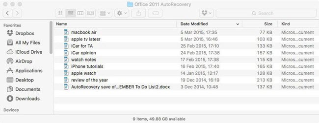 recover-unsaved-excel-on-mac-autorecovery