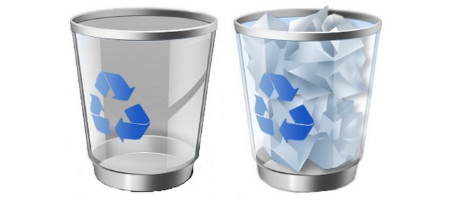 deleted files not in recycle bin