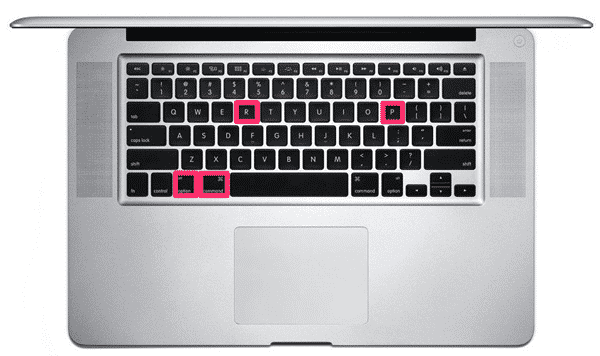 reset PRAM on MacBook