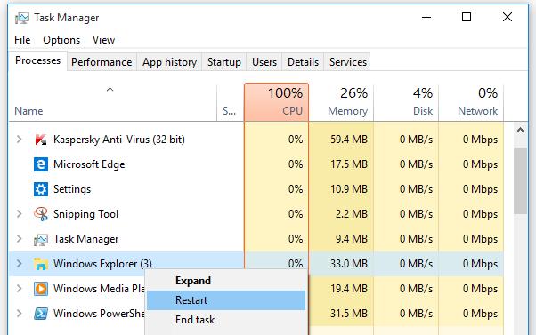 restart-windows-explorer