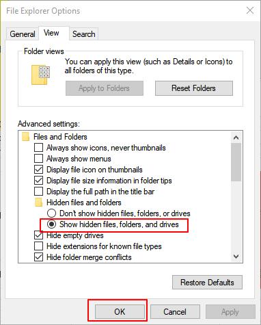 restore 0 byte files