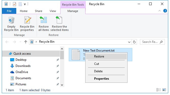 restore-deleted-notepad-recycle-bin
