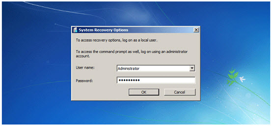 log in administrator account