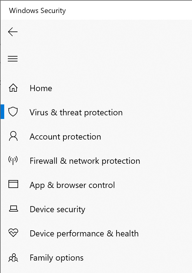 virus threat protection