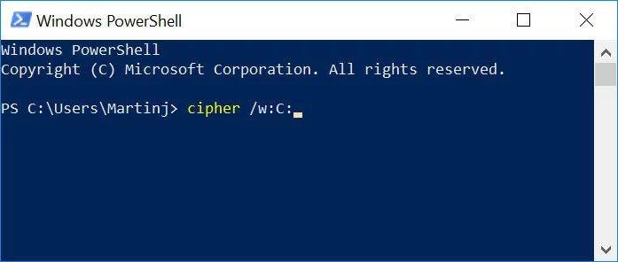 windows-cipher