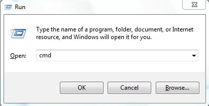cmd in Windows