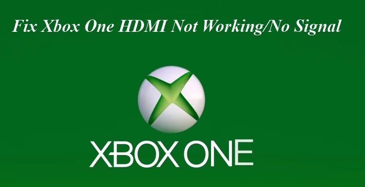 fix xbox no signal or hdmi not working