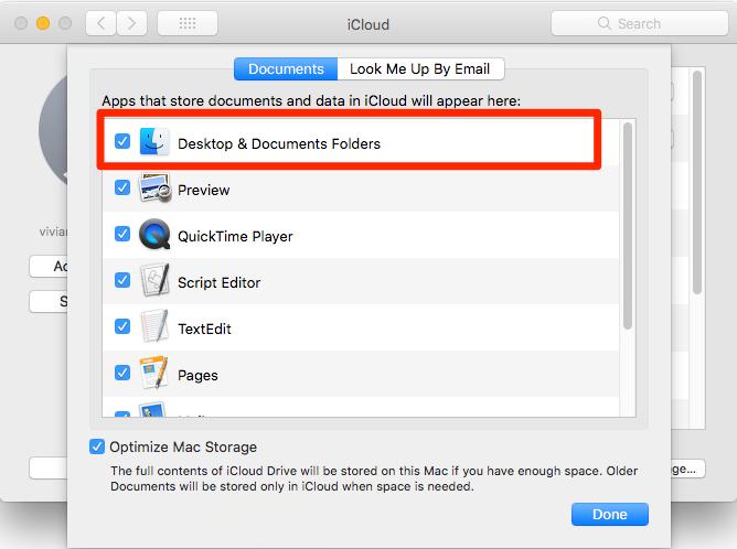documents folder missing mac