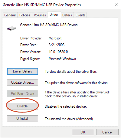 enable card reader