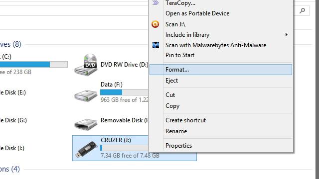 format external hard drive