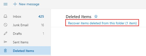 hotmail email recovery