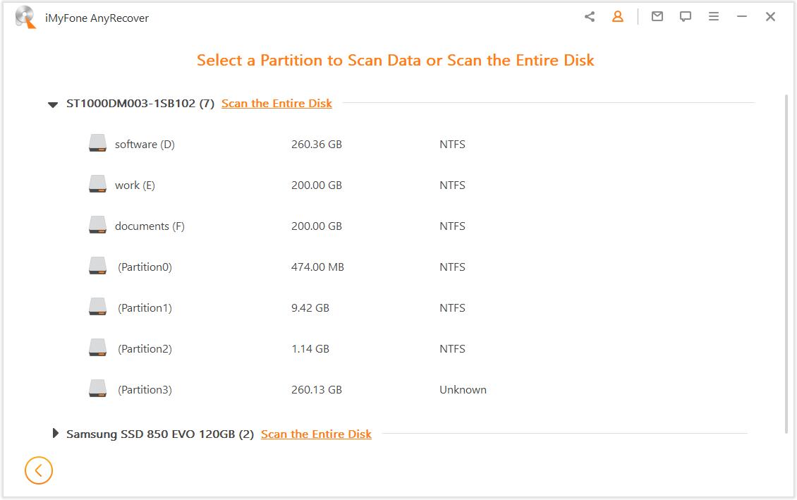 select-a-partition