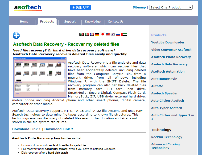 Asoftech Website