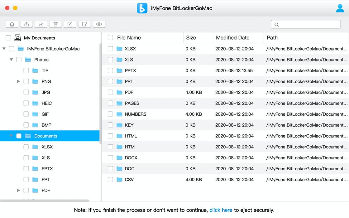 read/write BitLocker drive on mac