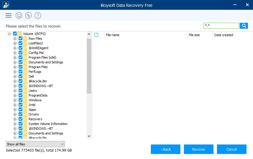 iBoysoft Scan Result