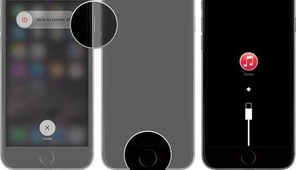 entrar no modo de recuperação iPhone 6