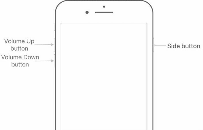 entrar no modo de recuperação iPhone 8