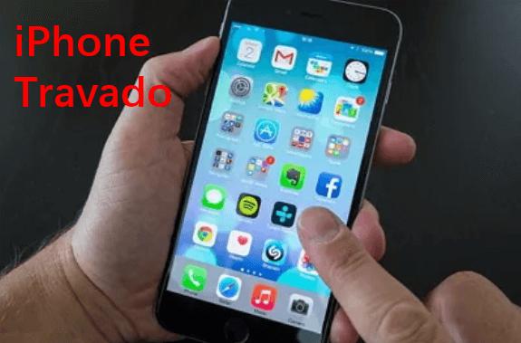 O iPhone travou na atualização do iOS 15/14/13/12? Aqui está a solução!