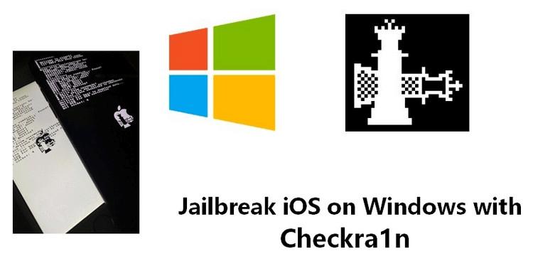 Jailbreak iOS on Windows with Checkra1n