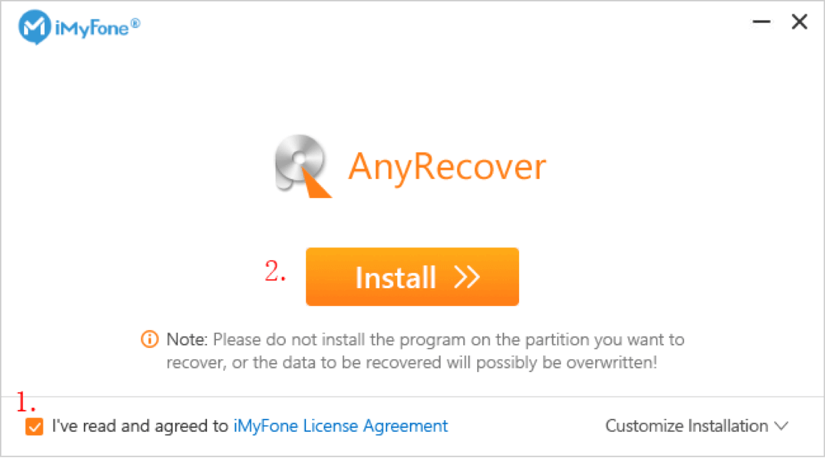install-anyrecover