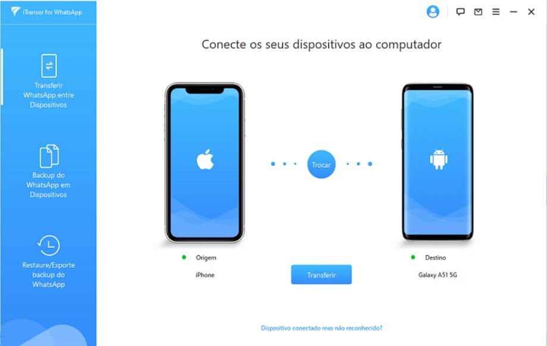 Conecte seus dispositivos