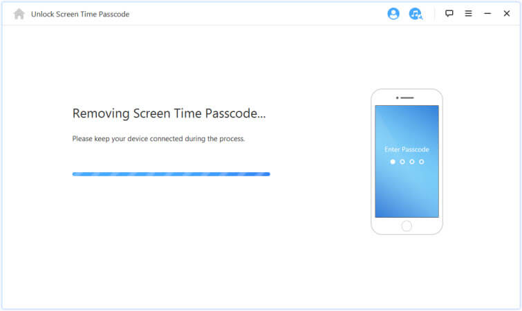 Removing Screen Time passcode