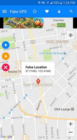 fake GPS run