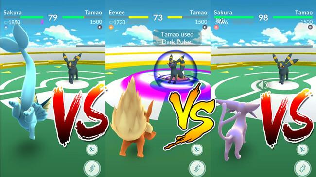 pokemon go Gym-Kampf