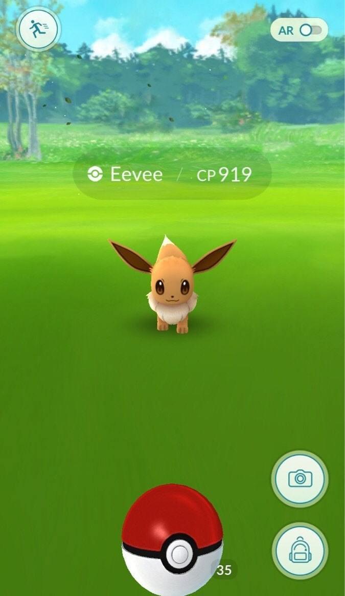 Shiny Evoli Pokémon GO in der Wildnis auftauchen