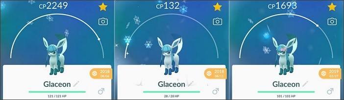 Shiny Glaziola Evoli-Pokémon