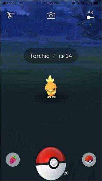 AR-Modus in Pokemon Go deaktivieren