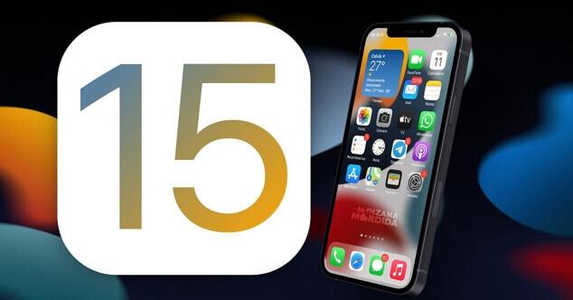 Apple iOS 15 2021