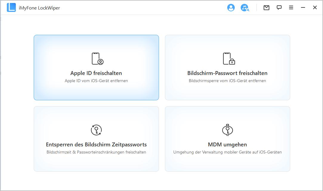 Apple ID entfernen