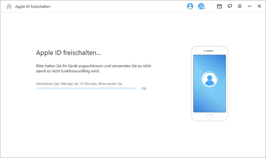 Apple ID erfolgreich umgeht