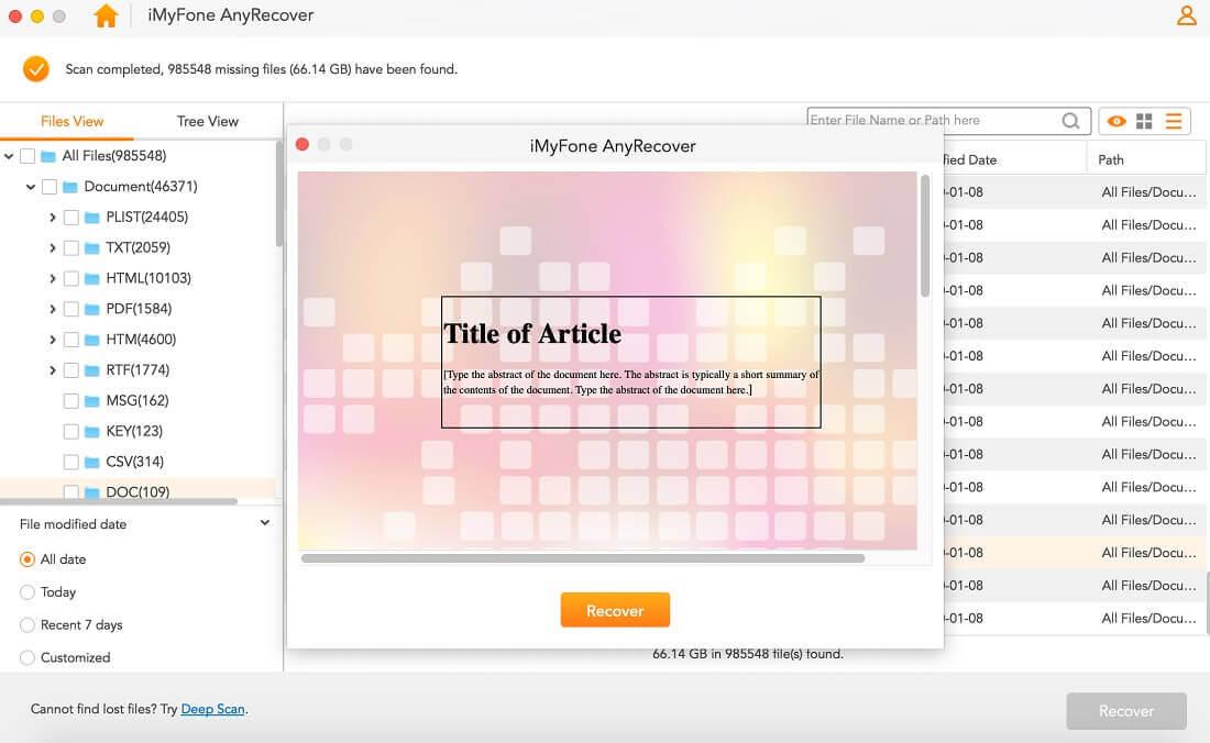nicht gespeicherte Word-Datei in Vorschau anzeigen