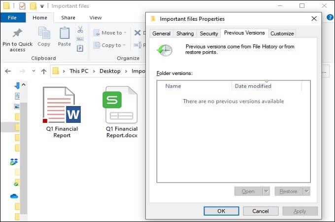 Überschriebene Excel-Datei mit Vorgängerversion wiederhestellen