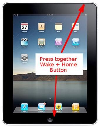 hardreset iPad