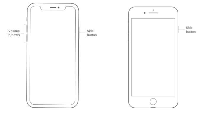 iPhone Neustart erzwingen