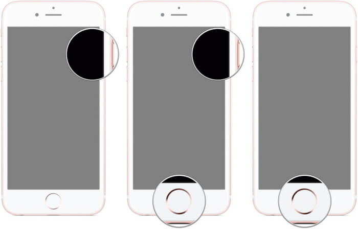 iphone 6 and earlier enter DFU mode